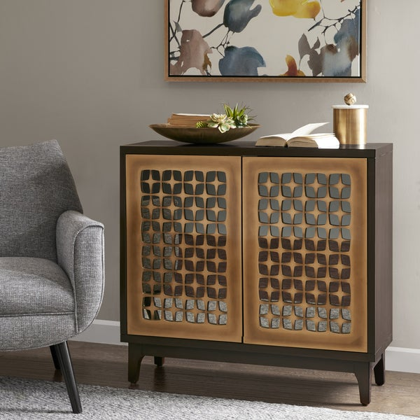 Madison Park Misbro Brown Wood 2-door Cabinet