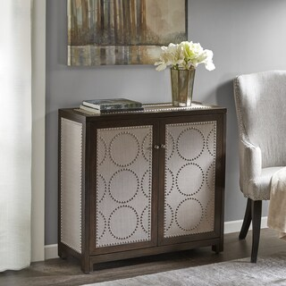 Madison Park Lomas Walnut Wood Cabinet