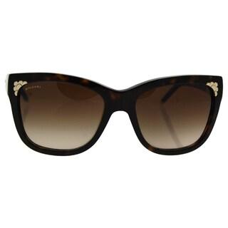 Bvlgari BV8134K 504/13 -Women's Dark Havana/Brown Gradient Sunglasses
