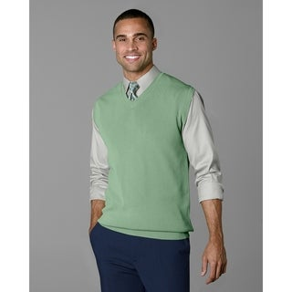 Twin Hill Mens Sweater Grass Rayon/Nylon V-Neck