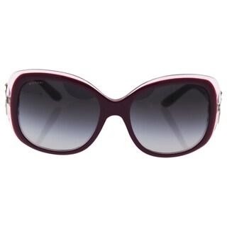 Bvlgari BV8172B 5392/8G - women's Top Violet-On Pink Crystal/Grey Gradient Sunglasses
