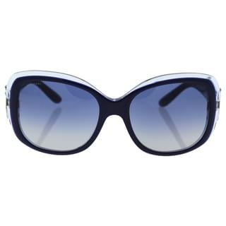 Bvlgari BV8172B 5391/4L - Women's Top Blue-On Azure Crystal/Blue Grey Gradient Sunglasses