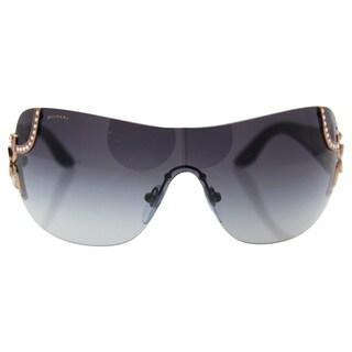 Bvlgari BV6079B 376/8G - Women's Pink Gold-Black/Grey Gradient Sunglasses