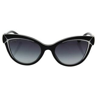 Bvlgari BV8156B 5387/8G - women's Black-White/Grey Gradient Sunglasses