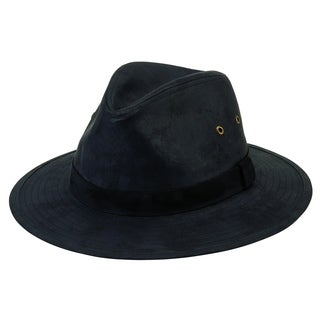 San Diego Hat Company/Mens Collection/Outdoor hat - black