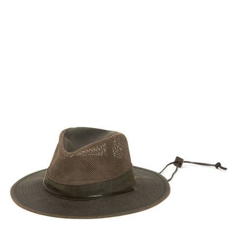 San Diego Hat Company/Mens Collection/Outdoor hat - brown, s/m
