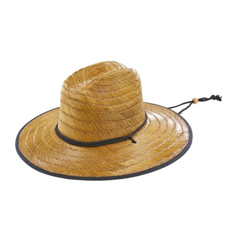 San Diego Hat Company/Mens Collection/Sunhat, straw - natural