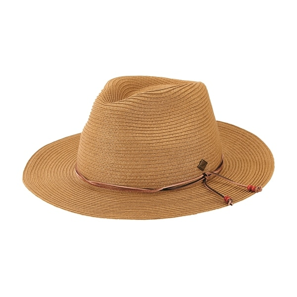 San Diego Hat Company/Mens Collection/paperbraid fedora - natural