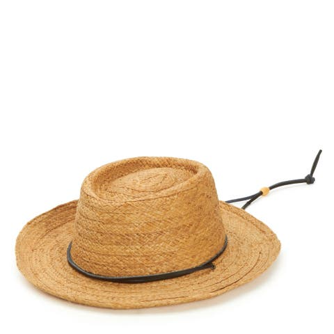 San Diego Hat Company/Mens Collection/Straw gambler- natural