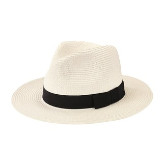 San Diego Hat Company/Mens Collection/ultra braid fedora - white