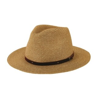 San Diego Hat Company/Mens Collection/mixed paperbraid- natural, s/m