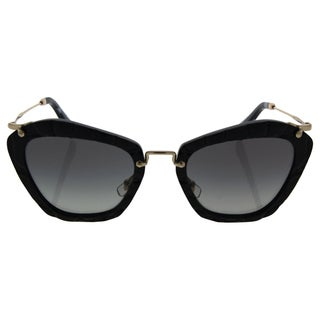 Miu Miu MU 10N USW-3M1 - Women's Black/Grey Sunglasses
