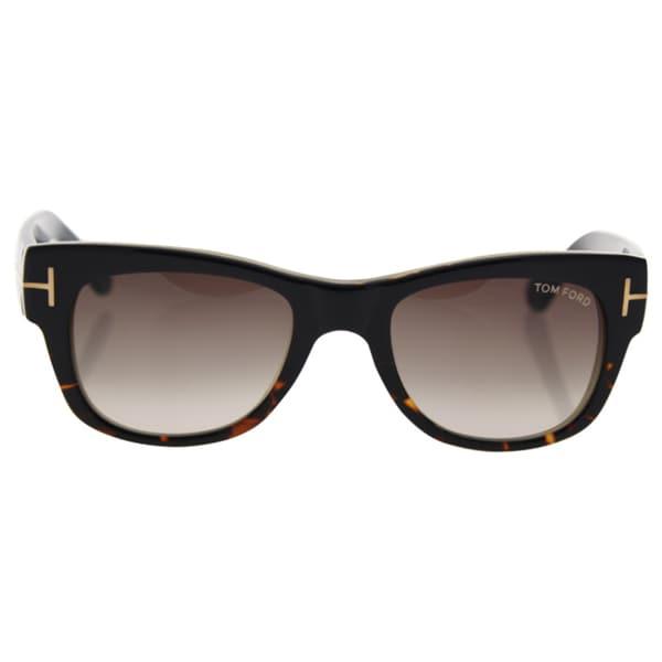 d05254f6a32 Tom Ford FT0058 05K Cary - Women  x27 s Black Gradient Roviex Sunglasses