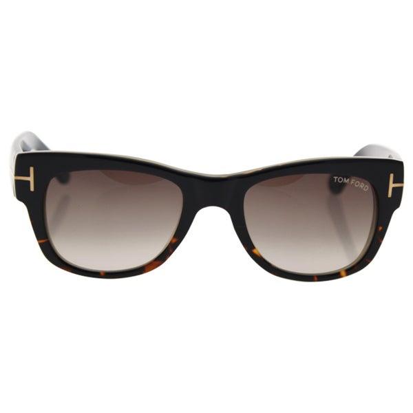 ef0e85392a72 Tom Ford FT0058 05K Cary - Women  x27 s Black Gradient Roviex Sunglasses