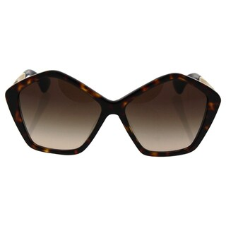 Miu Miu MU 11N 2AU-6S1 - Women's Havana/Brown Sunglasses