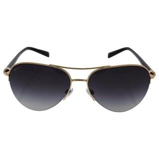 Bvlgari BV6084 2014/8G - Women's Pink Gold/Grey Gradient Sunglasses
