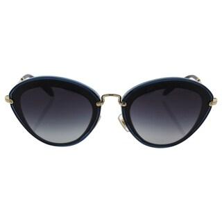 Miu Miu MU 51R 1AB-5D1 - Women's Black/Grey Sunglasses