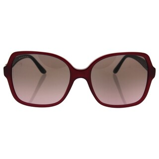 Bvlgari BV8164B 5333/14 - Women's Transparent Red/Violet Gradient Brown Sunglasses