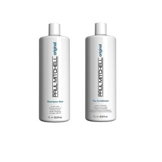Paul Mitchell Original 33.8-ounce Shampoo One & The Conditioner