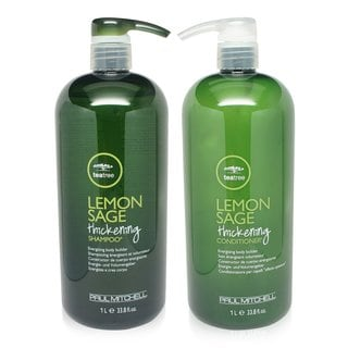 Paul Mitchell Tea Tree Lemon Sage 33.08-ounce Thickening Shampoo and Conditioner