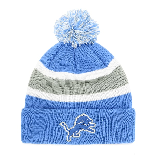 57484c78c Shop Detroit Lions NFL Breakaway Knit Beanie with Pom - Ships To ...