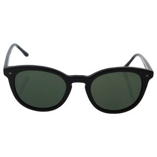 Giorgio Armani AR 8060 5017/31 Frames Of Life - Men's Black/Green Sunglasses