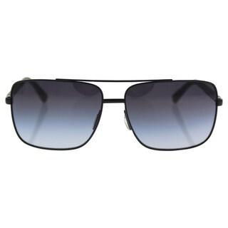Versace VE 4276 5079/6G - Men's Matte Black/Grey Silver Sunglasses
