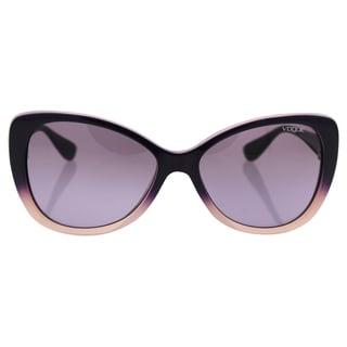 Vogue VO2819S 23478H - Women's Top Violet Gradient Opal Powder/Violet Gradient Sunglasses