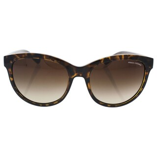 Armani Exchange AX 4051S 803713 - Women's Havana/Brown Gradient Sunglasses