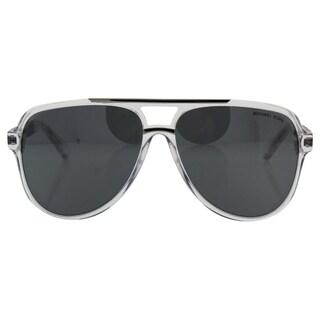 Michael Kors MK 6025 30946G Clementine II - Women's Clear/Silver Sunglasses