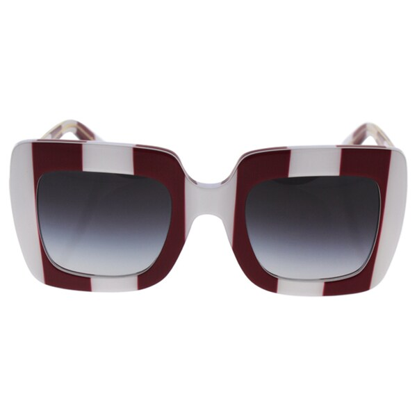86e555fadd Shop Dolce   Gabbana DG 4263 3024 8G - Unisex Stripe Red White Grey ...