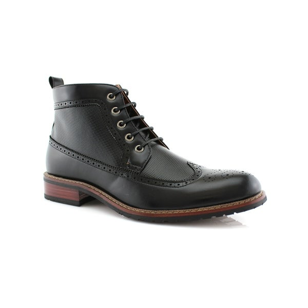 7a1c289f2f2 Ferro Aldo Michael MFA806278 Men's Dress Ankle Boots For Work or Casual Wear