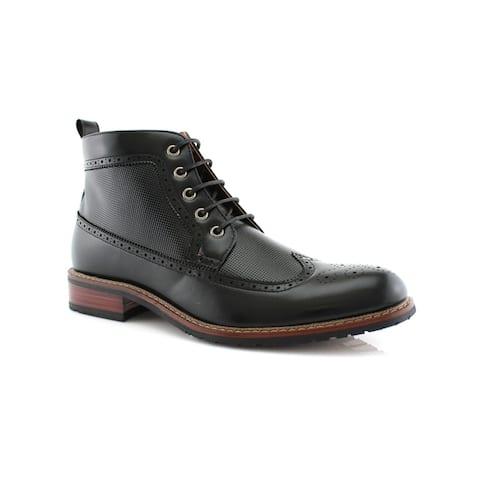 Ferro Aldo Michael MFA806278 Mens Dress Ankle Boots For Work or Casual Wear