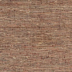 Hand-woven Brown Leather/ Hemp Rug (8' x 10') - Thumbnail 1