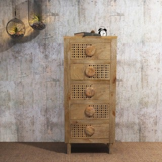 Wilson Wood 5-Drawer Chest by Christopher Knight Home