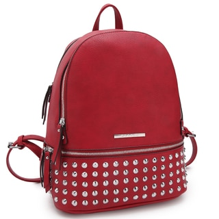 Dasein Medium Spiked Studded Backpack