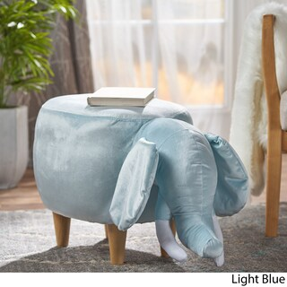 Rosie Velvet Elephant Ottoman by Christopher Knight Home (3 options available)
