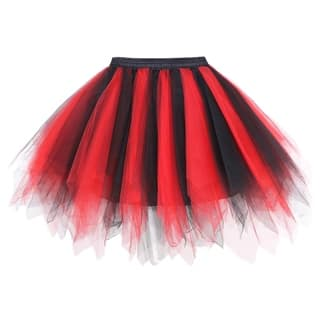 Simplicity Women's 50s Vintage Ballet Bubble Tutu Skirt/Petticoat|https://ak1.ostkcdn.com/images/products/17779624/P23976551.jpg?impolicy=medium