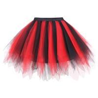 Simplicity Women's 50s Vintage Ballet Bubble Tutu Skirt/Petticoat
