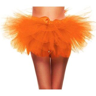 Simplicity Women's 5-layered Tulle Ballerina Dance Party Tutu Skirt