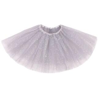 AshopZ Women's Classic Triple Layered Tulle Tutu Skirt w/ Sparkling Sequins