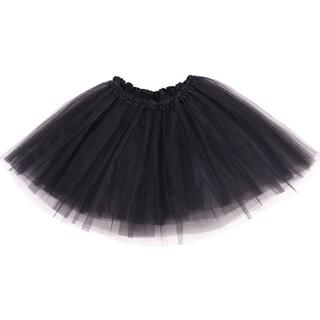 Simplicity Women's 3-Layered Tulle Fiber Classic Elastic Ballet Tutu