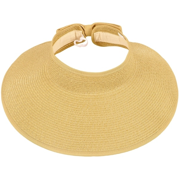 Rolled beach hat