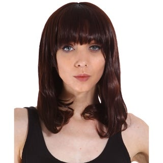 Simplicity Women's Daily Wear and Costume Wig Dark Brown