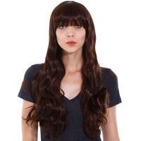 Simplicity Women's Long Curly Wave Wig