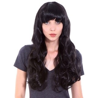 Simplicity Women's Daily Wear and Costume Wig Black