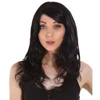 Gardinesca Women's Long Curl Natural Looking Full Hair wig with Wig Cap