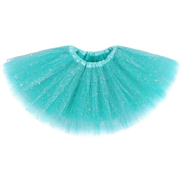 a6c3e38dea Shop AshopZ Girls' Vintage Glitter Layered Dress-Up Tulle Tutu Skirt with  Sequins - On Sale - Free Shipping On Orders Over $45 - Overstock - 17779684
