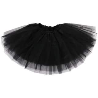 Simplicity Girls' Elastic Waist Ballet Tutu|https://ak1.ostkcdn.com/images/products/17779686/P23976588.jpg?impolicy=medium