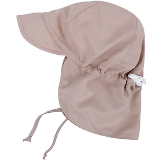 UPF 50 Sun Protection Baby Hat w/ Neck Flap and Drawstring